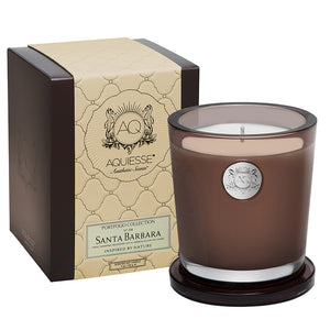Santa Barbara Large Soy Candle - Scents Lifestyle Home Fragrances