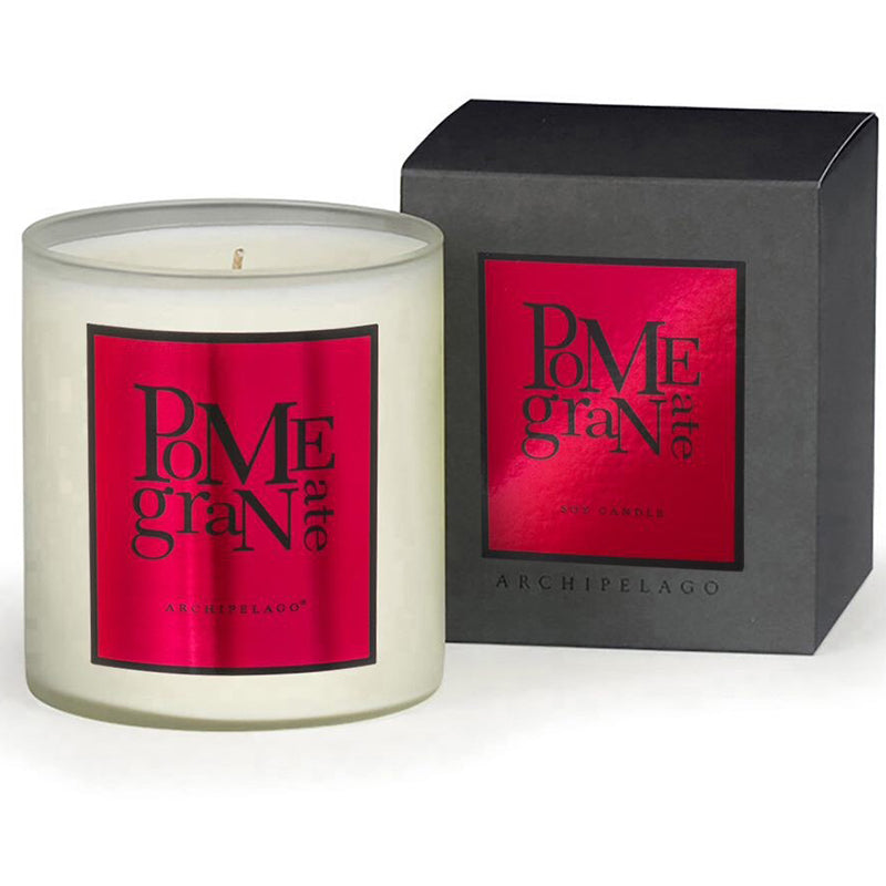 Pomegranate Boxed Candle - Scents Lifestyle Home Fragrances