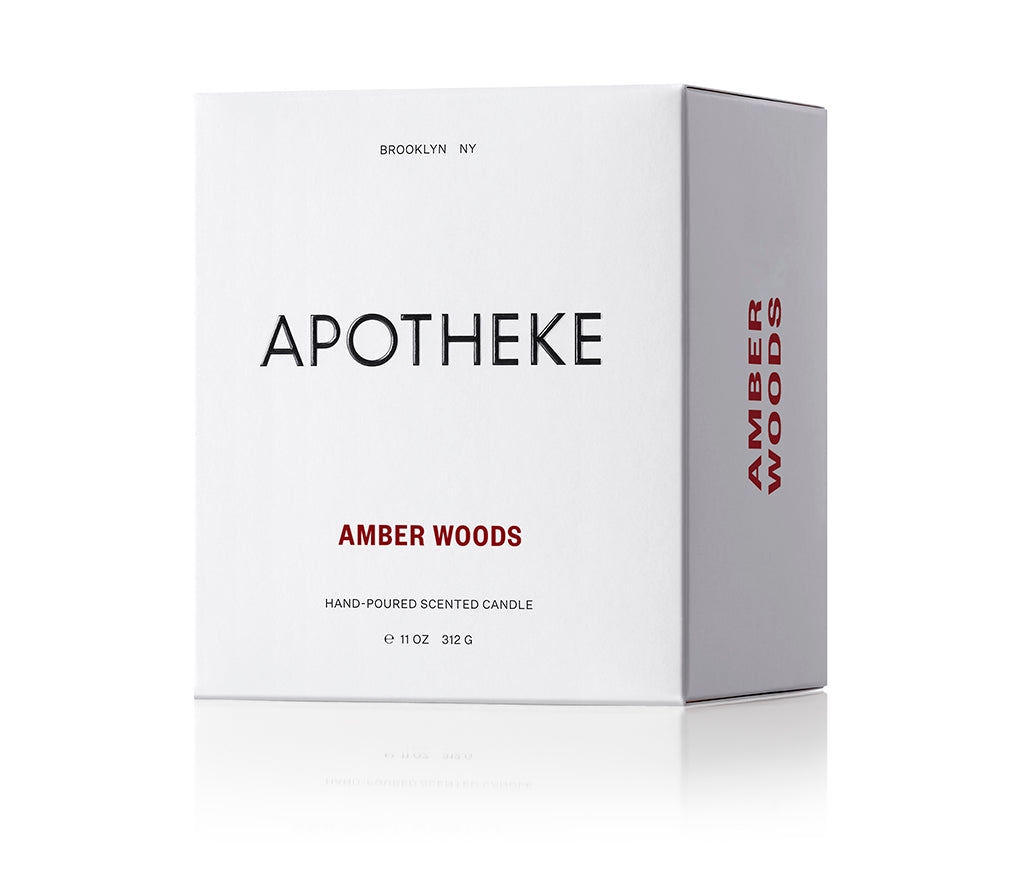 Amber Woods Candle - Scents Lifestyle Home Fragrances