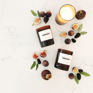 Fig + Bergamot 14 oz Candle - Scents Lifestyle Home Fragrances
