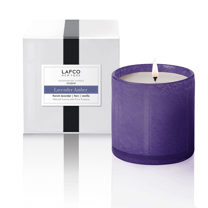 Lavender Amber 15 Oz Signature Candle - Scents Lifestyle Home Fragrances