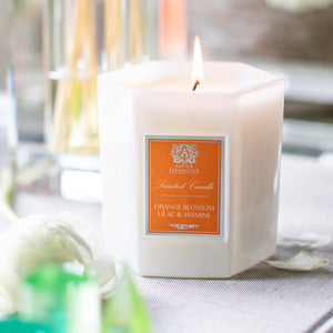 Orange Blossom, Lilac & Jasmine Candle 9 oz. - Scents Lifestyle Home Fragrances