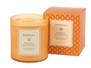 Pumpkin Macchiato Boxed Candle - Scents Lifestyle Home Fragrances