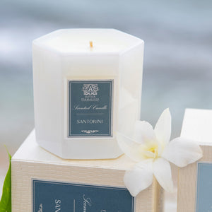 Santorini Candle 9 oz. - Scents Lifestyle Home Fragrances