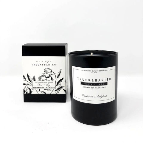 Olive + Sage 14 oz Candle - Scents Lifestyle Home Fragrances