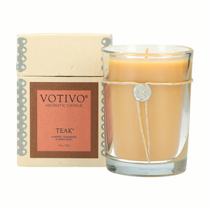 Teak Candle - Scents Lifestyle Home Fragrances