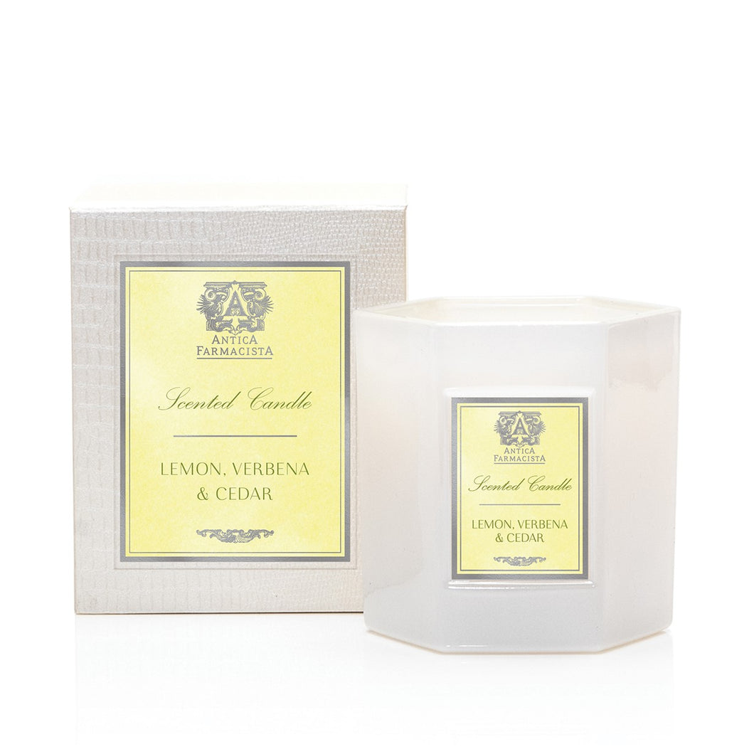 Verbena & Cedar 9 oz Candle - Scents Lifestyle Home Fragrances