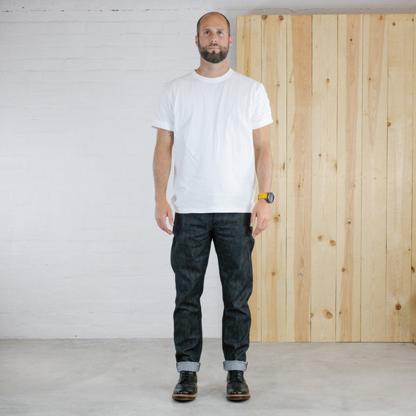 Black Summer-weight Stretch Selvedge Short Run - SkinR