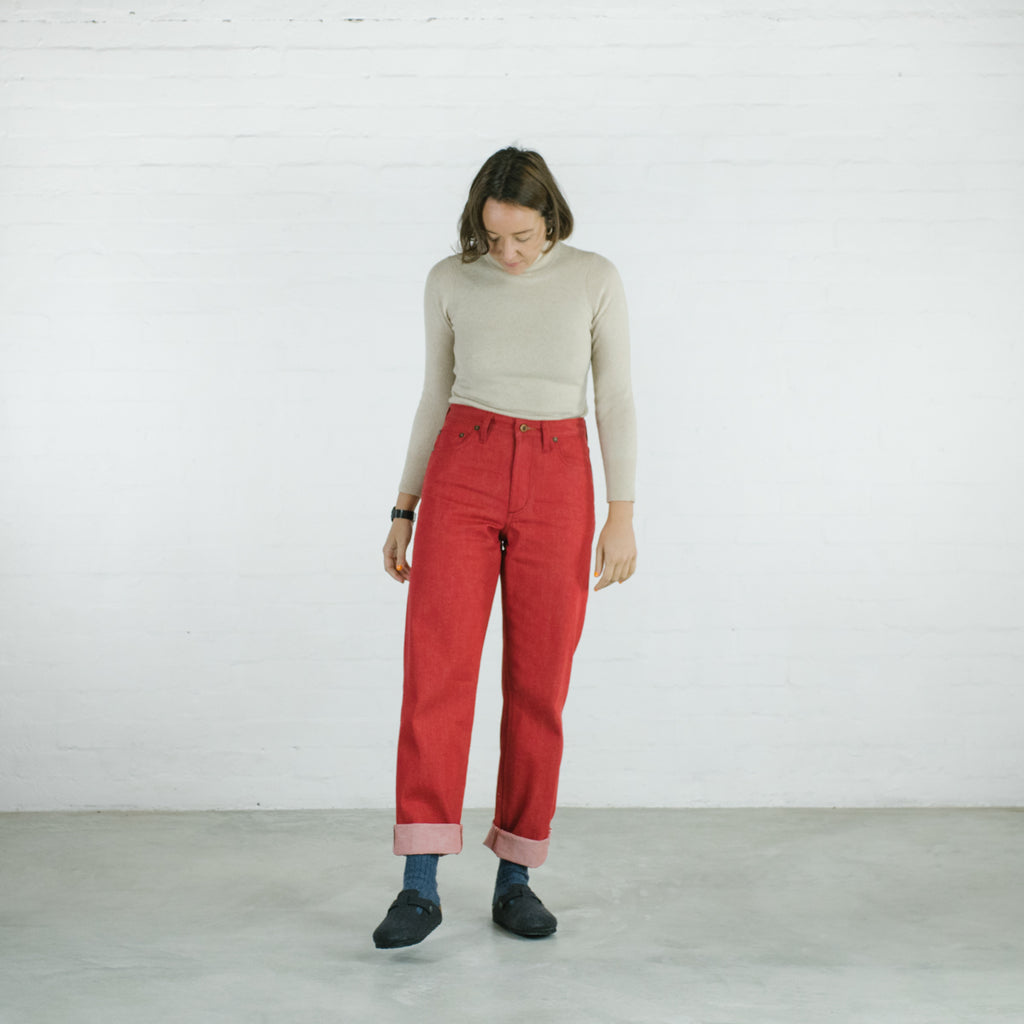 The Red Peggy - Relaxed Fit