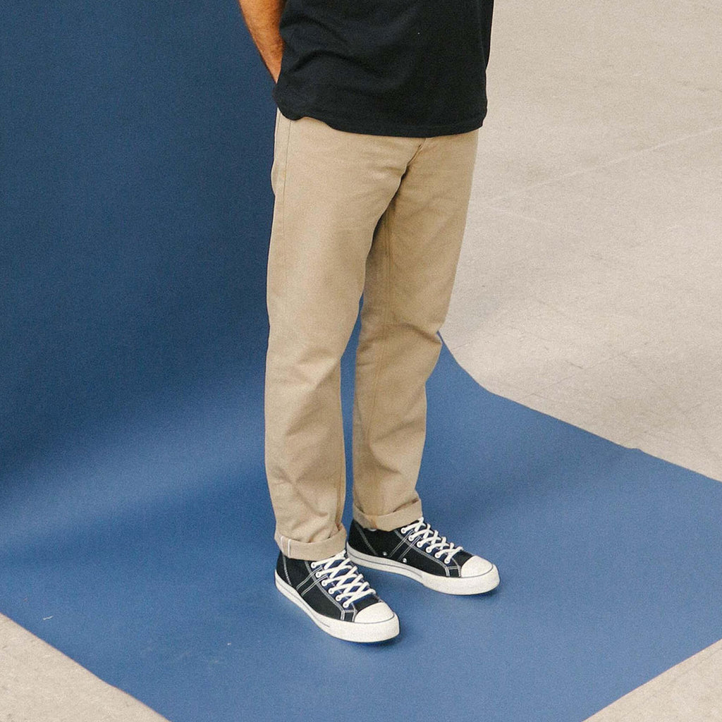 Japanese Khaki Selvedge Short Run - SlimR