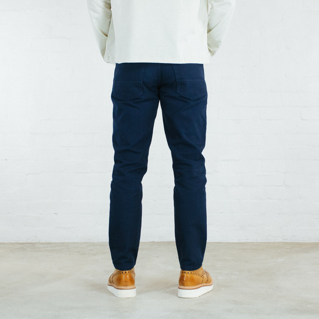 Navy Duck Canvas Short Run - Work@