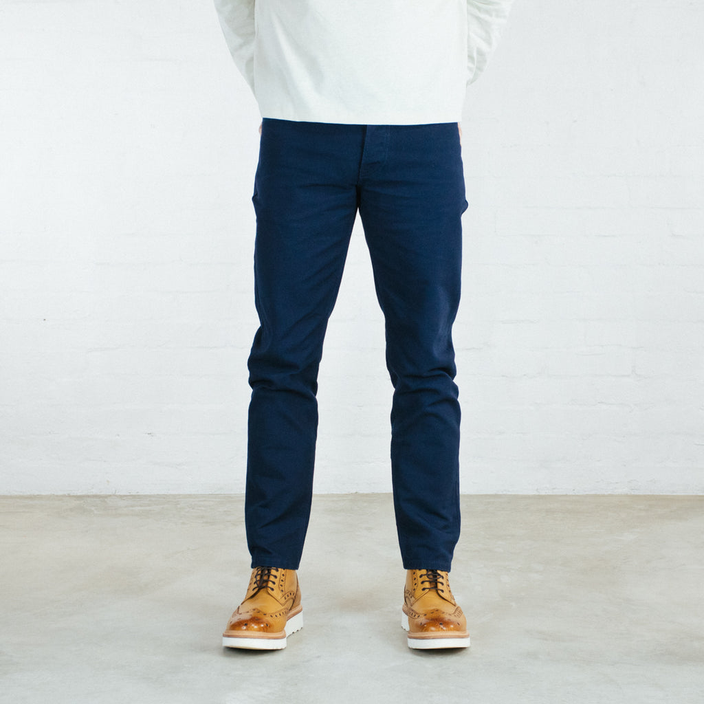 Navy Duck Canvas Short Run - SkinR