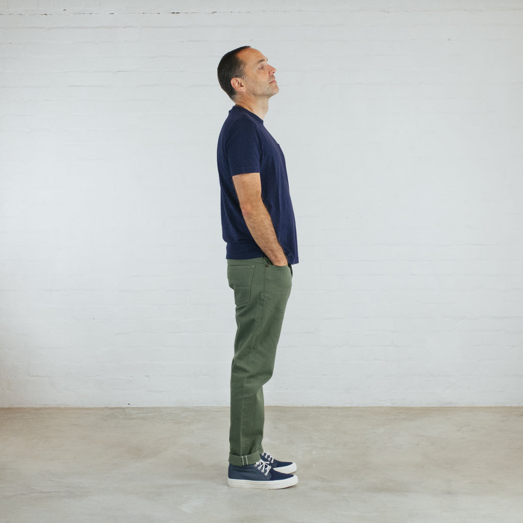 Japanese Selvedge Chino Short Run - Work@