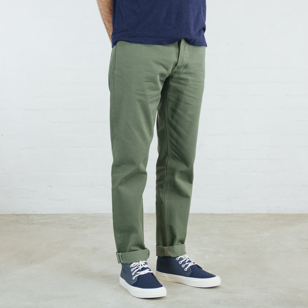 Japanese Selvedge Chino Short Run - Hack@