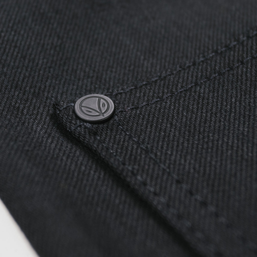 Japanese Double Black Stretch Short Run - The Work@ - Regular Fit