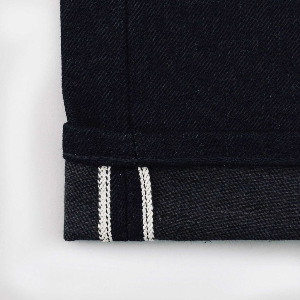 Japanese Black/Charcoal Selvedge Short Run - Work@