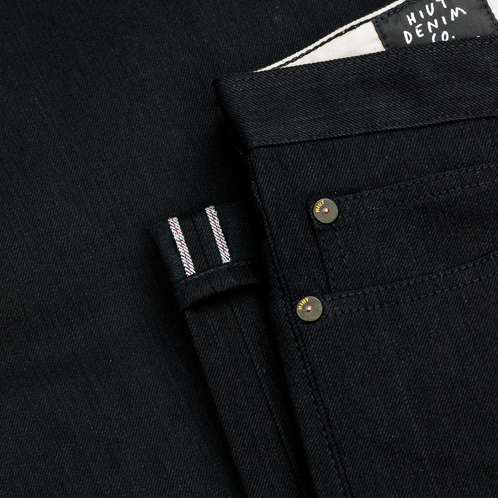 Double Black Winter Weight Selvedge Short Run - Work@