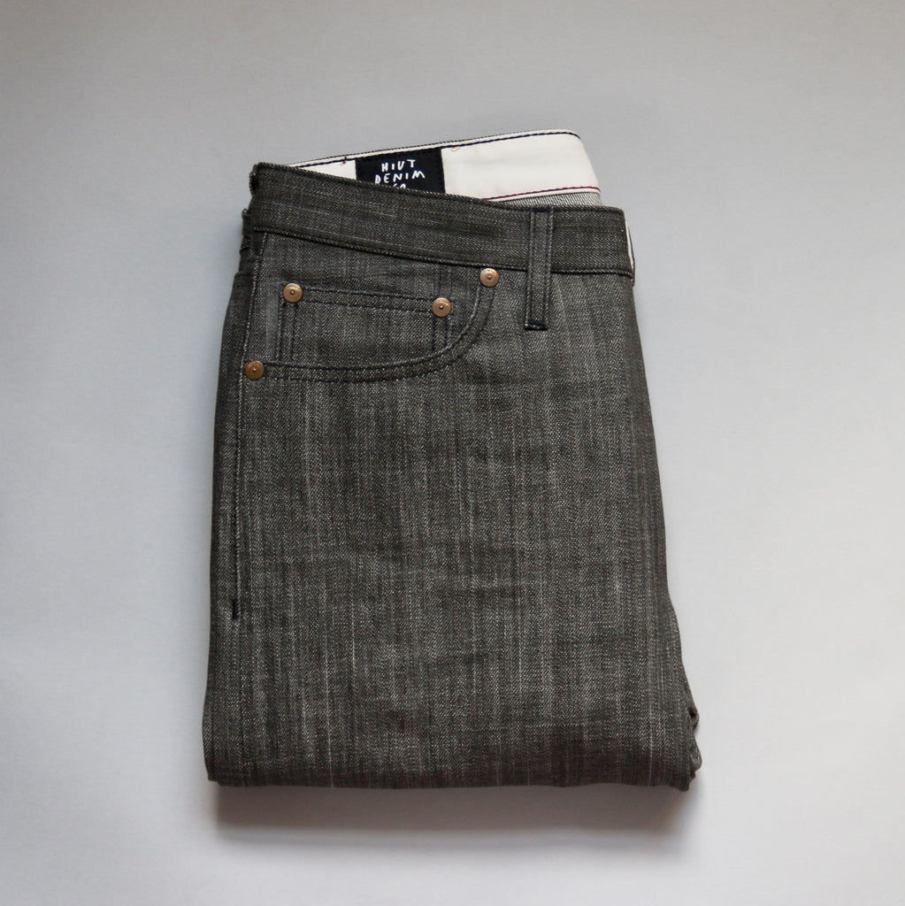 Black Indian Ink Selvedge Short Run - Work@