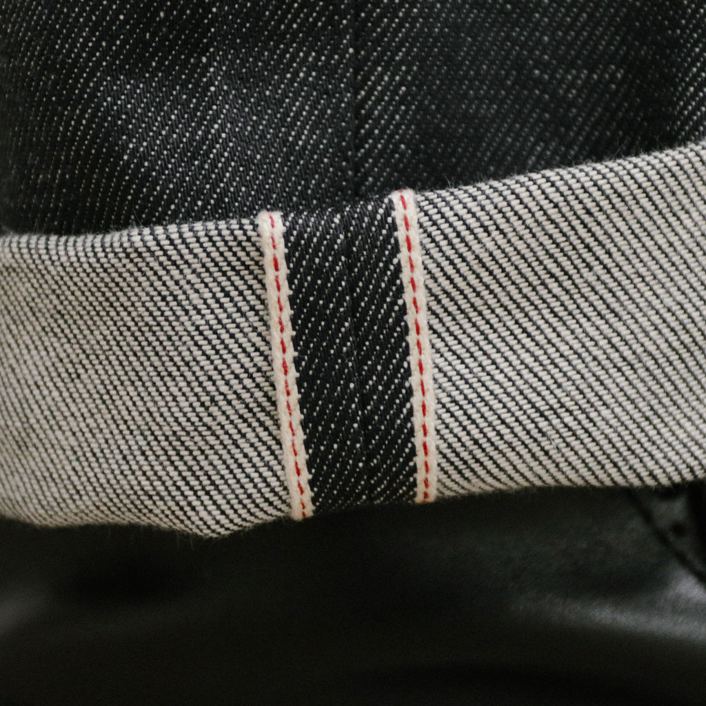Italian Grey Selvedge Short Run - Hack@