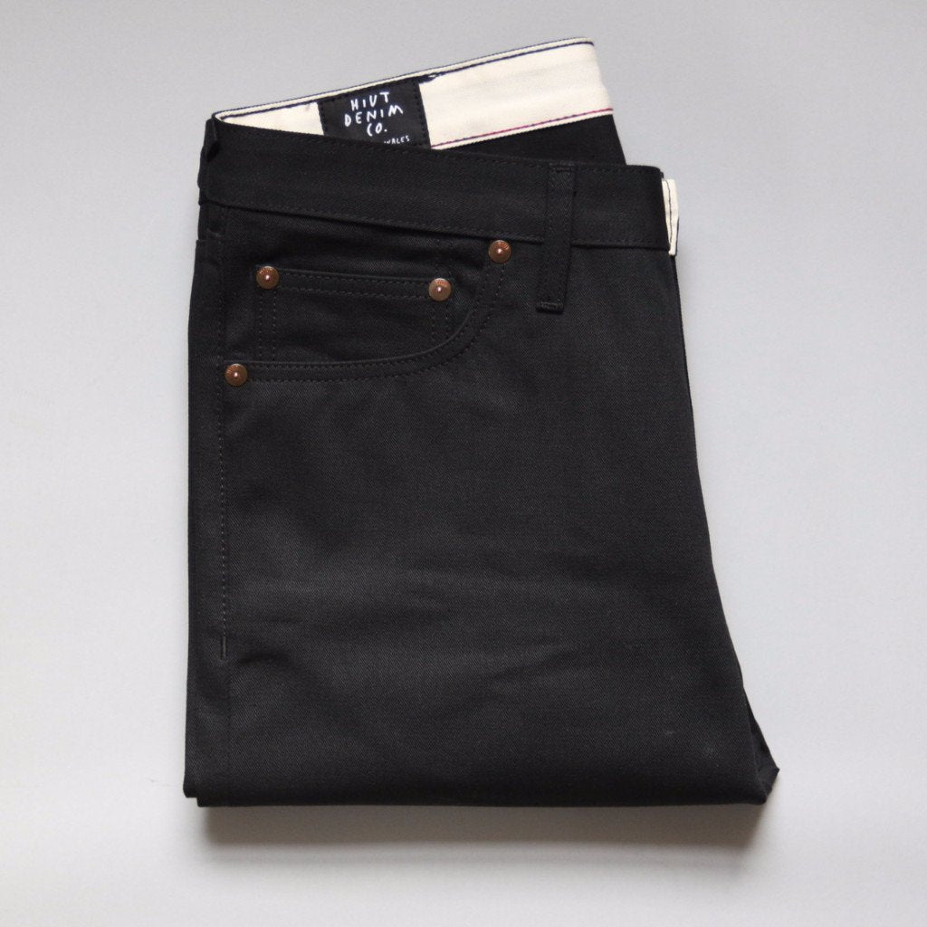 Double Black Summer Weight Selvedge Short Run - Work@