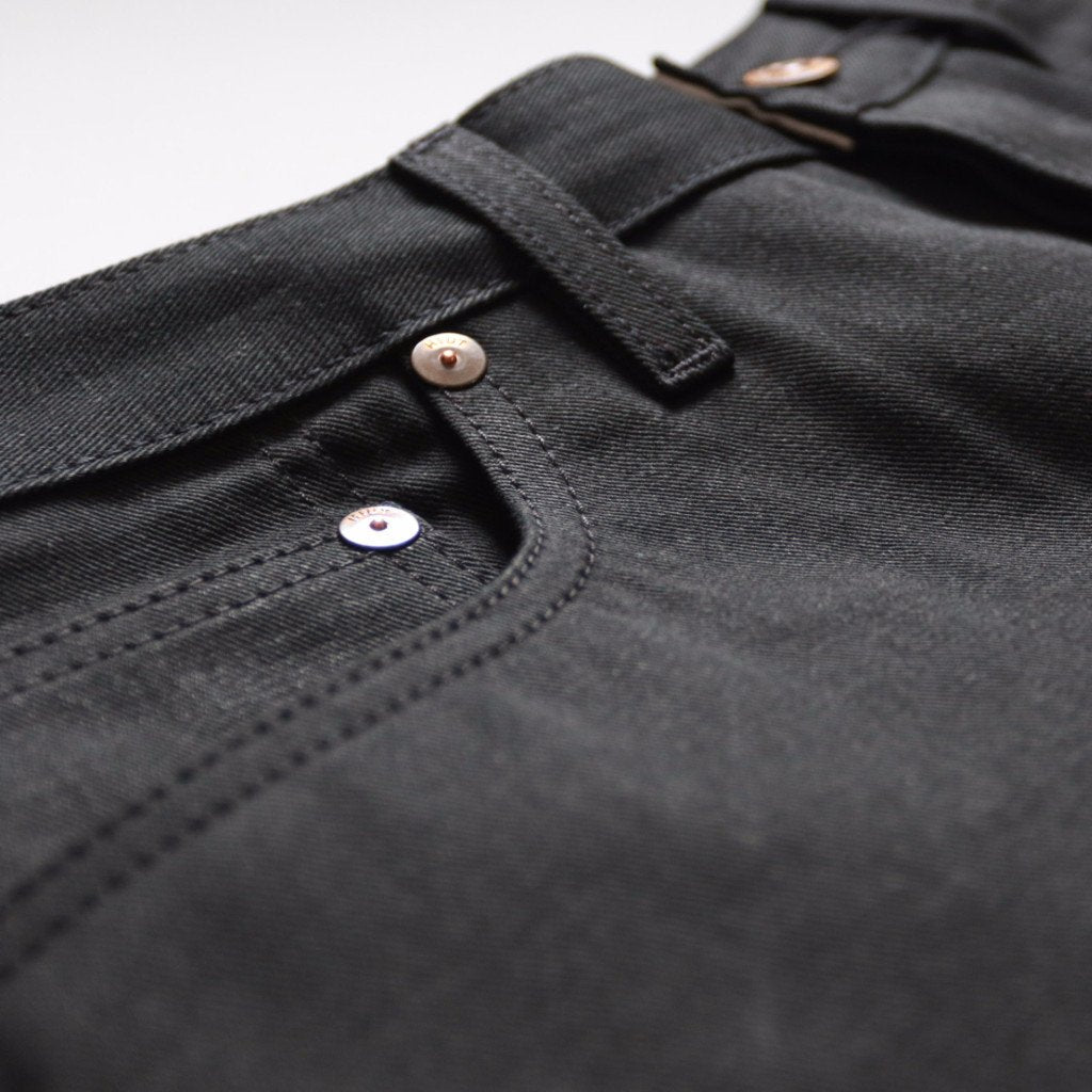 Double Black Summer Weight Selvedge Short Run - SlimR