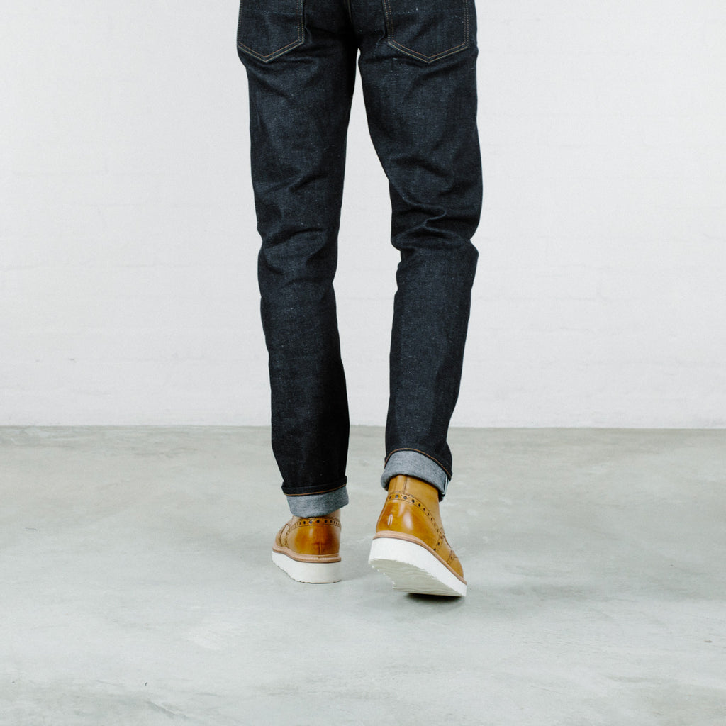 Japanese Neppy Stretch Selvedge Short Run - SlimR