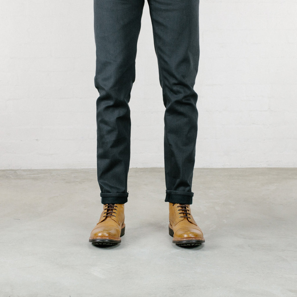 The Ultimate Grey Stretch Selvedge Short Run - Hack@