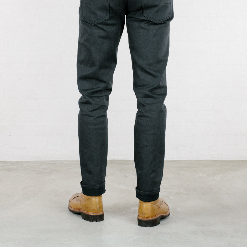 The Ultimate Grey Stretch Selvedge Short Run - Work@