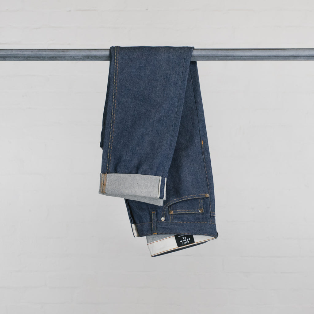 Japanese Vintage Natural Indigo Selvedge Short Run - SkinR