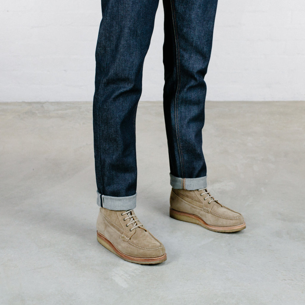 Japanese Organic Stretch Selvedge Short Run - Work@