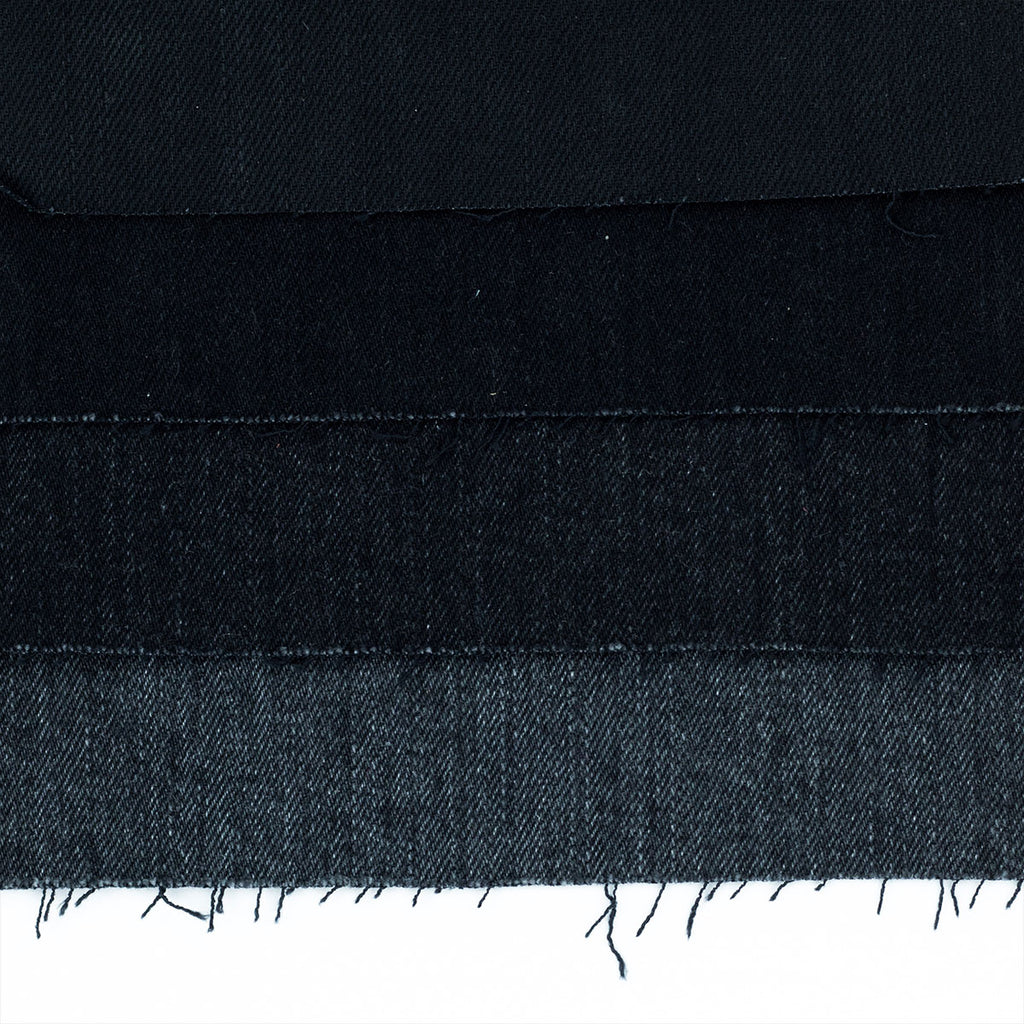 Double Black Winter Weight Selvedge Short Run - SlimR