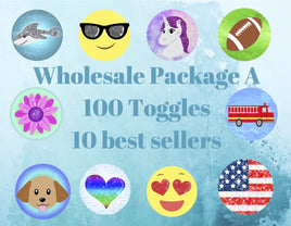 Wholesale Package A - 100 toggles