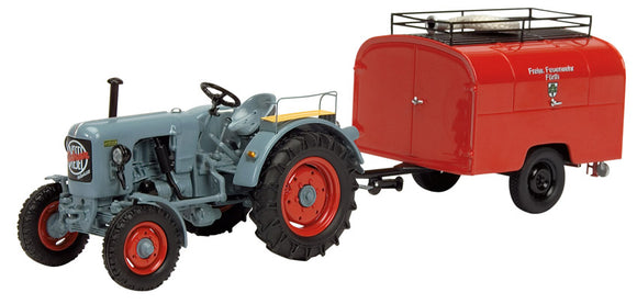 Schuco Edition 1:43 Eicher ED 16/II Tractor with Trailer