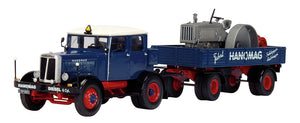 Schuco Edition 143 Hanomag pulling Tractor with Trailer