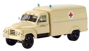 "Schuco Edition 143 Hanomag L 28 Truck ""Red Cross"""