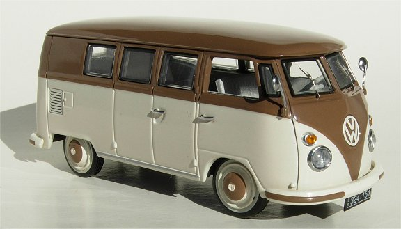 Schuco Edition 1:43  VW T1 Kombi Brn White