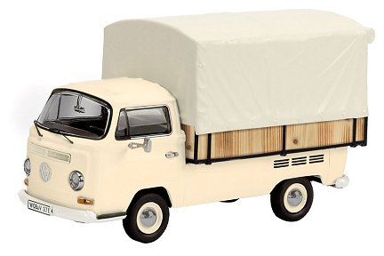 Schuco Edition 1:43 VW T2a Pick Up Widebed with tarpaulin