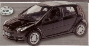 "Schuco Edition 1:43 Mercedes Benz Smart for four ""Brabus Black"""