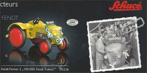 "Schuco Piccolo Fendt Farmer 2 Tractor ""100,000 Comemorative edition Gold"