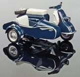 Schuco Piccolo Heinkel Scooter Tourist 103 A2 with side car[W3G3]
