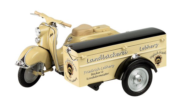 Schuco Edition 1:10 Motorcycle  Zündapp Bella with side box