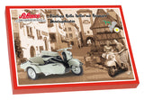 Schuco Edition 1:10 Motorcycle  Zündapp Bella Roller with side car Construction kit