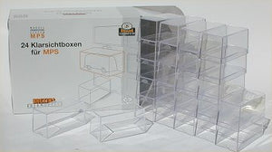 Brekina Clear boxes for MPS set of 24