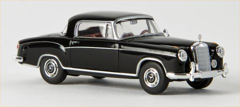 Brekina Starmada Mercedes Benz 220 S Coupe'  black