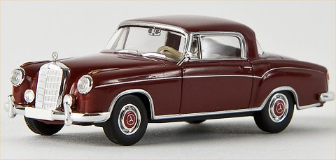 Brekina Starmada Mercedes Benz 220 S Coupe'  red