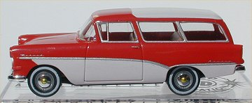 Brekina Opel Rekord PI Stationwagon red