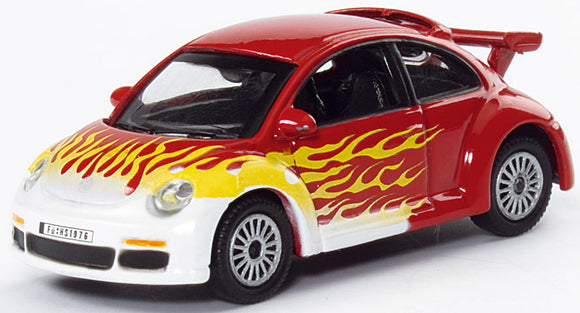 Schuco Edition 1:87 VW New Beetle Cup flames