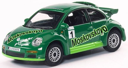 Schuco Edition 1:87 VW New Beetle Cup Moskovskayo