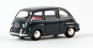 Brekina Fiat Multipla dark grey