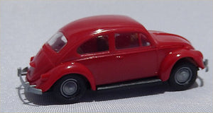 Brekina VW Bug std Dark Red
